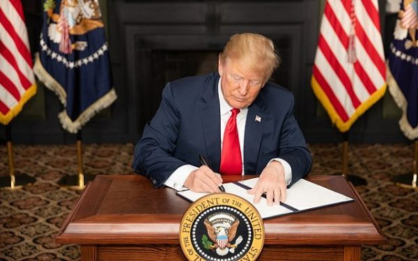 President Donald Trump signs an executive order placing further sanctions on Iran. I talk with Garrett Marquis about Trump's maximum pressure campaign.